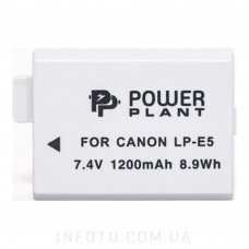 Aккумулятор Canon LP-E5 | PowerPlant