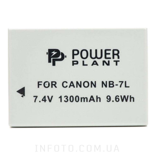 Aккумулятор Canon NB-7L | PowerPlant