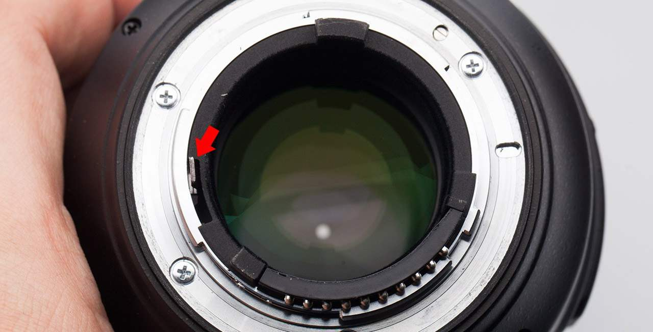 диафрагма на объективе Nikon