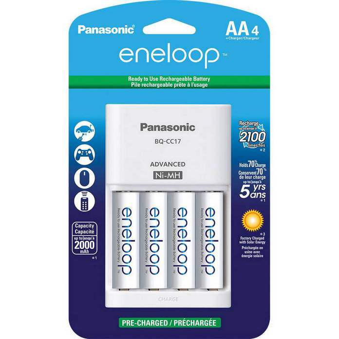 лучшие аккумуляторы Eneloop