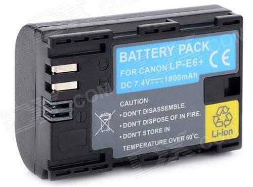 аккумулятор камеры Canon