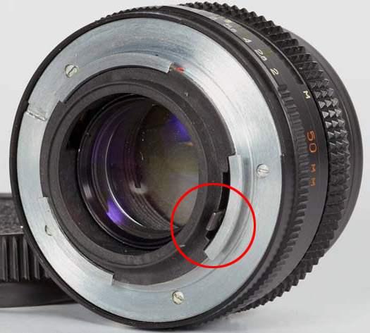 прыгающая диафррагма у системы Киев - Nikon