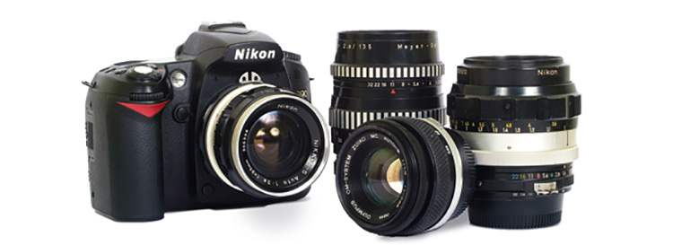 мануальные объективы на Nikon