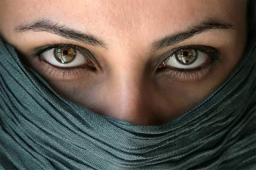Глаза в портрете